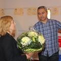Blumen für die Referentinnen....